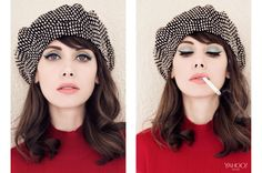 Alison Brie (Community & Mad Men) by Rene & Radka <3 SHE'S KILLING IT. This is such a gorgeous photoshoot. Holy moly this is beautiful.