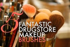 5 fantastic drugstore makeup brushes