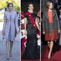 Todos los 'looks' de la Reina Letizia en su visita a Portugal, al detalle