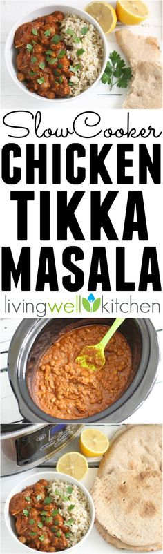 Slow Cooker Chicken Tikka Masala from @memeinge is a budget friendly meal that's slow cooked to perfection. Full of warming spices, this saucy dish will satisfy your comfort food cravings. This crockpot dinner recipe is gluten free, dairy free and is great for leftovers!