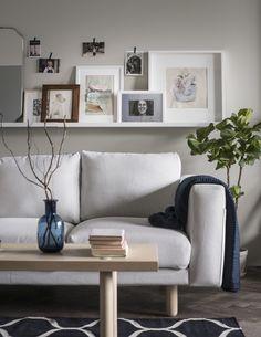 IKEA Deutschland   Die NORSBORG Sofas sind sehr vielseitig und gibt es in den verschiedensten Formen und Farben. #Wohnzimmer #Sofa #Wohnzimmerinspiration #Wohnzimmerdekoration