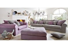Hussen-Sofa GIGANT