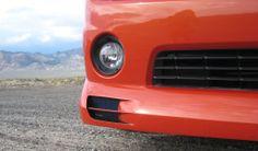 Sinister Camaro Air Dam Brake Duct closeup