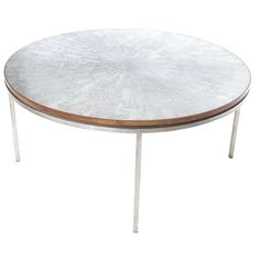 $945 1stdibs.com | Special Etched Coffee Table
