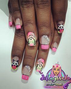 Nail Art, Nails, Beauty, Short Nails, Nail Designs, Creativity, Finger Nails, Ongles, Nail Arts
