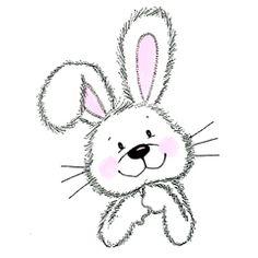 Bunny Peeking in