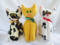 Momma Cat Doll  Kitty Doll  Plush by JoellesDolls on Etsy, $12.00