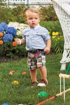 Kid style. #polo #kidsstyle