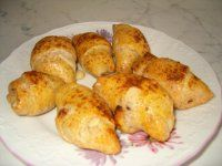 Plněné rohlíky   Mimibazar.cz Baked Potato, Potatoes, Baking, Vegetables, Ethnic Recipes, Food, Potato, Bakken, Essen