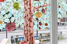Tape Window Installation in Tokyo