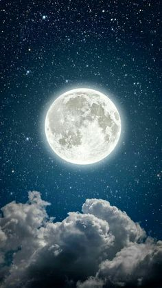 55 Trendy Photography Night Sky Moon And Stars Planets Wallpaper, Galaxy Wallpaper, Nature Wallpaper, Iphone Wallpaper, Night Sky Moon, Night Skies, Moon In The Sky, Stars And Moon, Night Sky Wallpaper