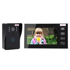 """118.50$  Watch here  - """"Home Security LCD 2.4G Wireless Video Door Phone Intercom Doorbell Camera with 7""""""""LCD Monitor Access Control"""""""