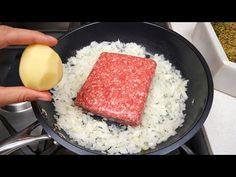 Tento recept od babičky všechny ohromil! Snadná vydatná večeře! - YouTube Mince Recipes, Pot Roast Recipes, Entree Recipes, Sausage Recipes, Beef Recipes, Cooking Recipes, Casserole Recipes, Potato Recipes, Yummy Recipes