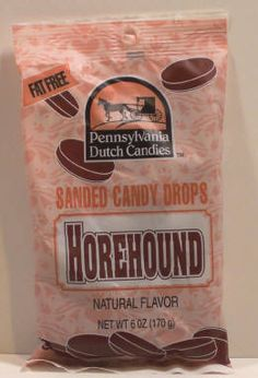 Horehound Natural Flavored Pennsylvania Dutch Hard Candy