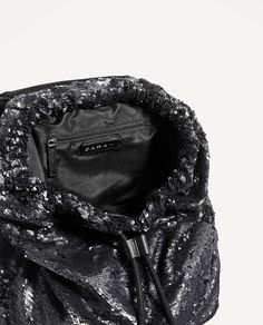 Image 6 of SEQUINNED BACKPACK from Zara