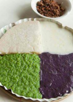 assorted ricecake ube kalamay pandan biko maja blanca kalamay lansong