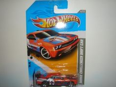 2012 Hot Wheels Dodge Challenger Drift Car Orange/Blue #229/247 by Mattel. $2.95. This sale is for a Hot Wheels 2012 Code Cars #229 Dodge Challenger Drift Car