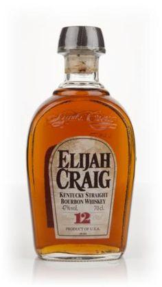 Elijah Craig Small Batch Bourbon 12 Year Old