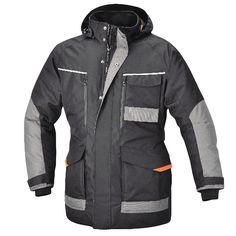Beta Giacca Parka impermeabile anti acqua abbigliamento lavoro nera grigio 7733