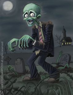 Zombie by sharpie99.deviantart.com on @deviantART