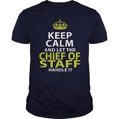 CHIEF OF STAFF - KEEPCALM GOLD