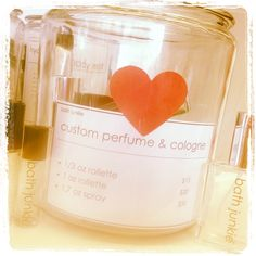 Create your own custom perfume and cologne!