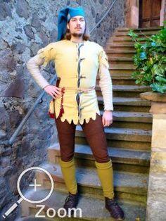 Larp, Renaissance, Landsknecht, Male Clothing, Medieval Costume, Medieval Fantasy, 14th Century, Warfare, Weapons