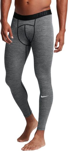 Nike Men s Pro Cool Heather Compression Tights 9d5f0d3ea