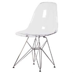 Industrial Chic Eiffel Ghost Dining Chair £100.00