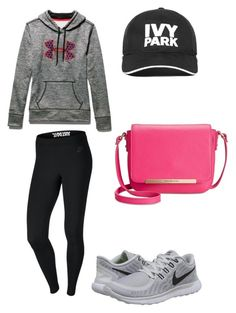 """Keira"" by alexaw-2 on Polyvore featuring Under Armour, NIKE, Ivy Park and Tommy Hilfiger"