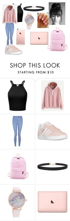 """Untitled #81"" by mads-p on Polyvore featuring New Look, adidas and Humble Chic"