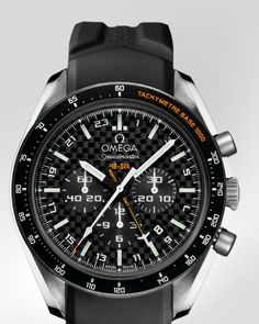 OMEGA SPEEDMASTER  HB-SIA CO-AXIAL GMT CHRONOGRAPH      Titanium on rubber strap 321.92.44.52.01.001