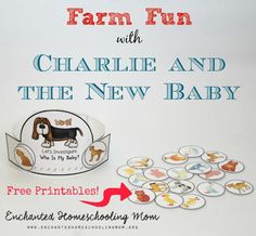 Farm Fun with Charlie and the New Baby