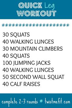 workout exercises home workout health and fitness Best Leg Workout, Leg Workout At Home, Leg Day Workouts, At Home Workouts, Leg Workout Women, Leg Exercises, Crossfit Leg Workout, Quick Workouts, Leg Workout Routines