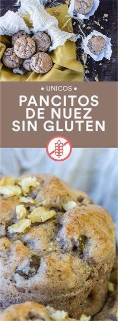 Pancitos de nuez sin gluten