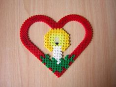 Christmas ornament hama perler beads by cathy077