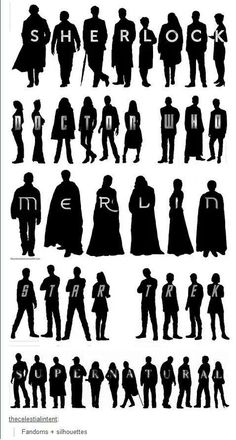 Fandoms Silhouettes