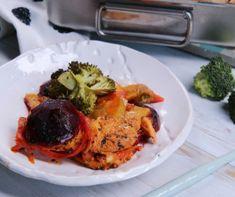 Mogyorókrémes-tejszínhabos palacsintatorta Recept képpel - Mindmegette.hu - Receptek Tandoori Chicken, Make It Yourself, Baking, Ethnic Recipes, Food, Lasagna, Bakken, Essen, Meals