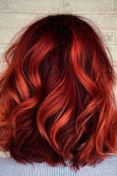 Best Hairstyles & Haircuts for Women in 2017 / 2018 : 20 Gorgeous Shades of Brown Hair for Summer Fun in the Sun Brown hair is often c… Hair Color Auburn, Hair Color Purple, Hair Color Highlights, Copper Highlights On Brown Hair, Deep Auburn Hair, Summer Brown Hair, Copper Hair, Copper Red, Up Dos