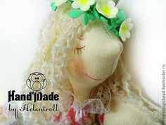 Купить Мамский ангел в розовом - розовый, интерьерная кукла, ангел-хранитель, дети, маме, хлопок