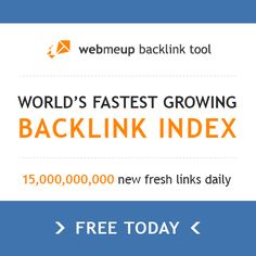 Free backlink checker tool to see the number, and where they're coming from, of links to your website #SEO #SearchEngineOptimization