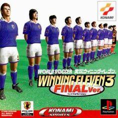 World Soccer Jikkyou Winning Eleven 3 Final Ver  [ Presstart ] atari . snes . megadrive . playstation . xbox . ps3 . supernintendo . videogame . soccer . retro . classic . games . personalize . virtual