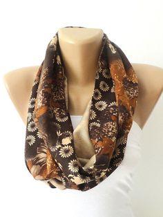 women infinity scarf fall fashion scarf trends loop scarf by seno