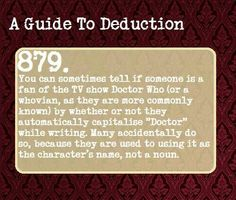 A guide to deduction.