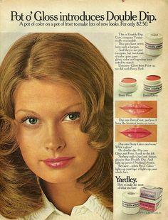 Yardley Pot o' Gloss. 1972.