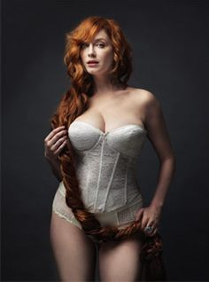 miss Christina Hendricks. a sexy,curvy and a total raven haired beauty!!!