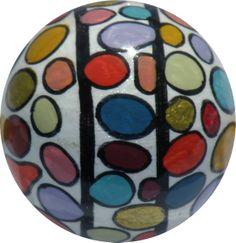 Bunte Punkte / Colourful dots by KUNST KUGELRUND