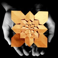 """6 layered hydrangea (Shuzo Fujimoto) #origami #hydrangea #papercraft #papiroflexia #paperart #flower #shuzofujimoto #art #artdeco #colorsplash #photoart…"""