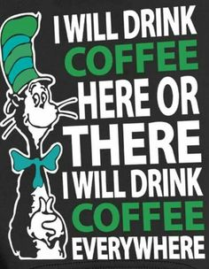 I will drink #Coffee