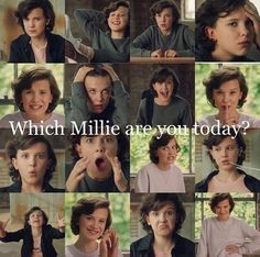Image about millie bobby brown in Stranger Things 💢 by Madalyn Stranger Things Actors, Stranger Things Have Happened, Stranger Things Quote, Stranger Things Aesthetic, Eleven Stranger Things, Stranger Things Netflix, Stranger Things Season, Millie Bobby Brown, Stranger Danger